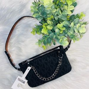 NWT Michael Kors Chain Belt Bag